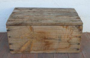 ADTR CHA Wooden Box 24cm wide x 18cm high x 37.5cm long