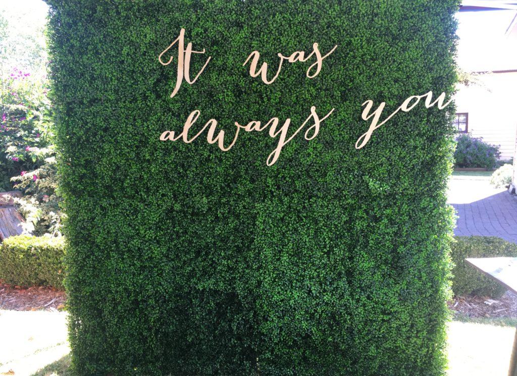 ADTR Lush Green Hedge Backdrop