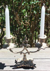 ADTR Small Ornate Candelabra