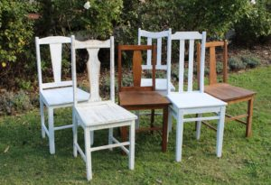 vintage, rustic, boho, melbourne, wooden chairs, timber, ceremony, wedding hire,event, prop