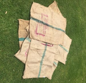 lawn games, vintage, rustic, boho, melbourne, ceremony, wedding hire,event, prop, sack race