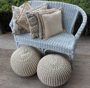 cushions, ottomans, vintage, rustic, boho, melbourne, ceremony, wedding hire,event, prop