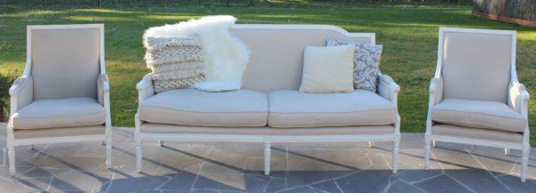 antique lounge, armchair, vintage, rustic, boho, melbourne, ceremony, wedding hire,event, prop, provincial
