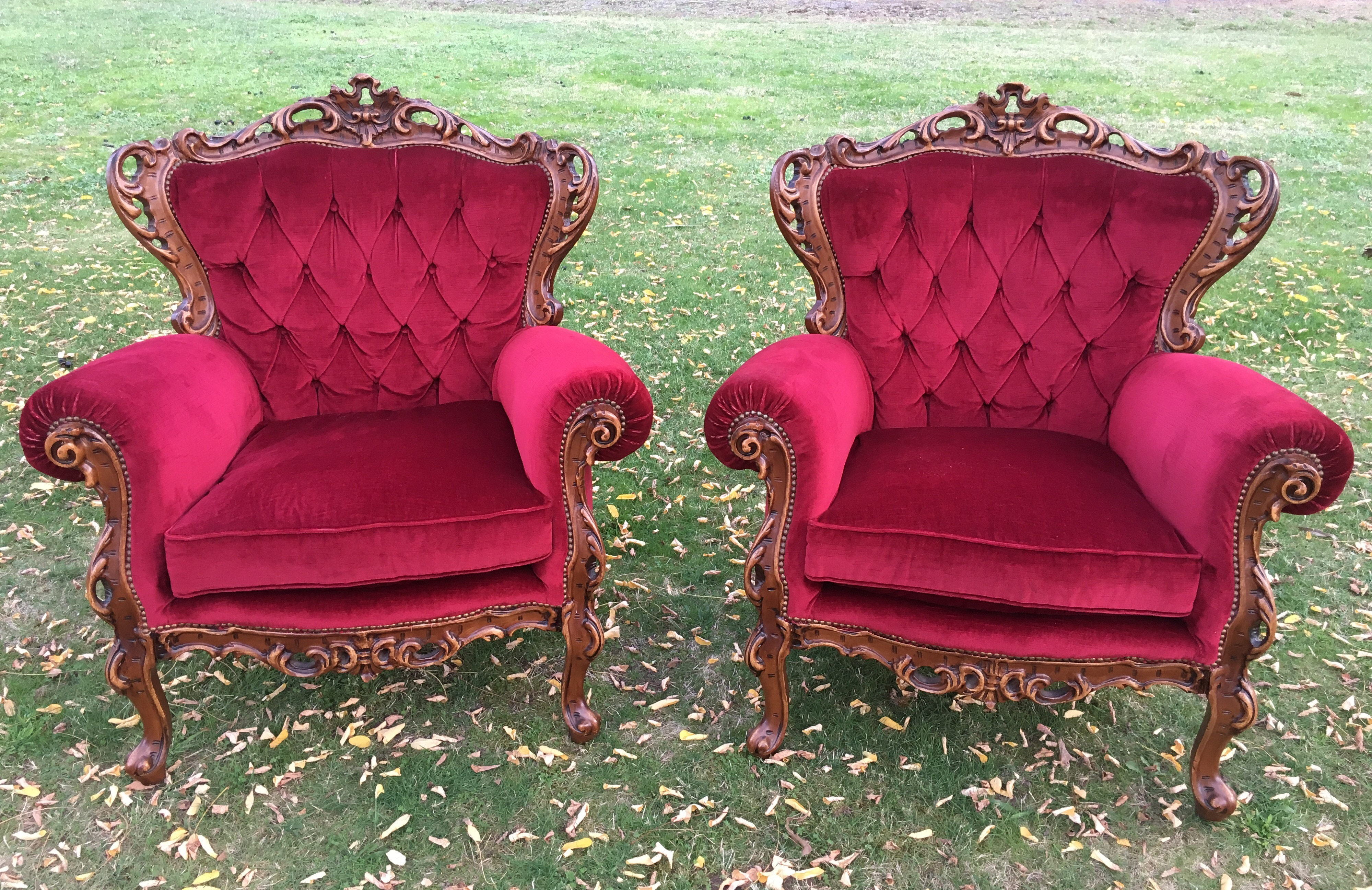 ADTR Red Armchairs