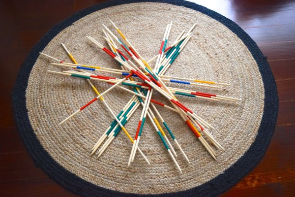 lawn games, vintage, rustic, boho, melbourne, ceremony, wedding hire,event, prop, pickup sticks
