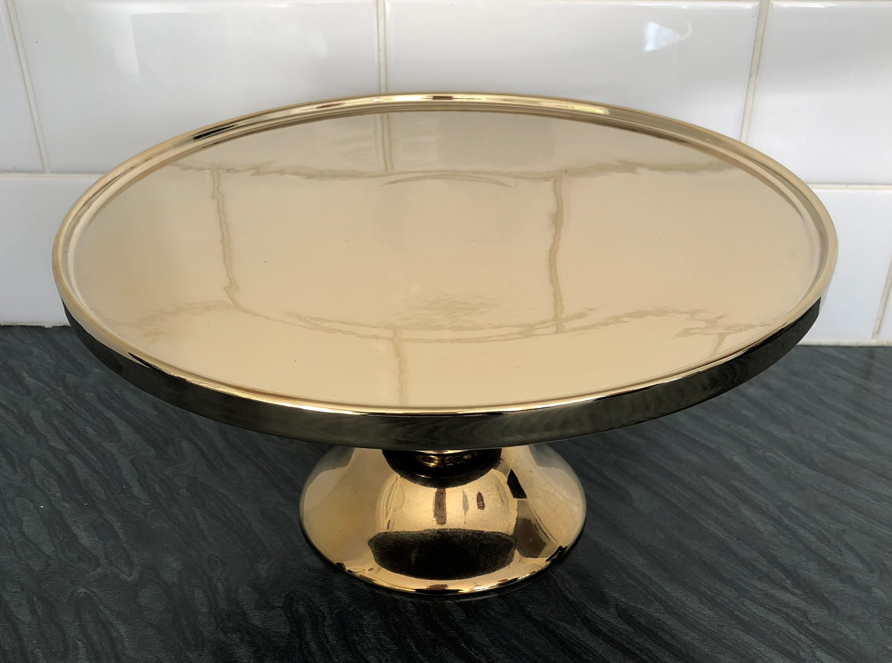 Gold Cake Stand - A Day to Remember Event Hire
