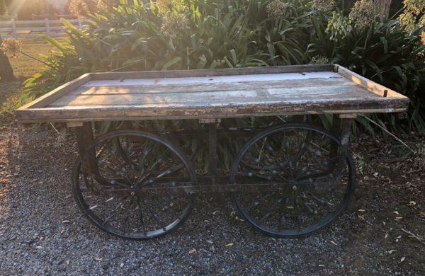 vintage, cart. wood, rustic, wedding hire, melbourne, prop,