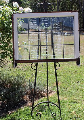 window, signage, vintage, rustic, boho, melbourne, ceremony, wedding hire,event, prop