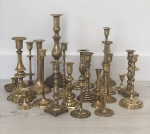 Vintage Wedding Hire Melbourne, Wedding Prop hire, Rustic Wedding hire, Boho, Melbourne, brass, candlestick