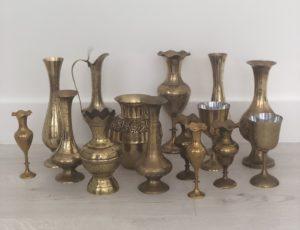 Vintage Wedding Hire Melbourne, Wedding Prop hire, Rustic Wedding hire, Boho, Melbourne, brassware