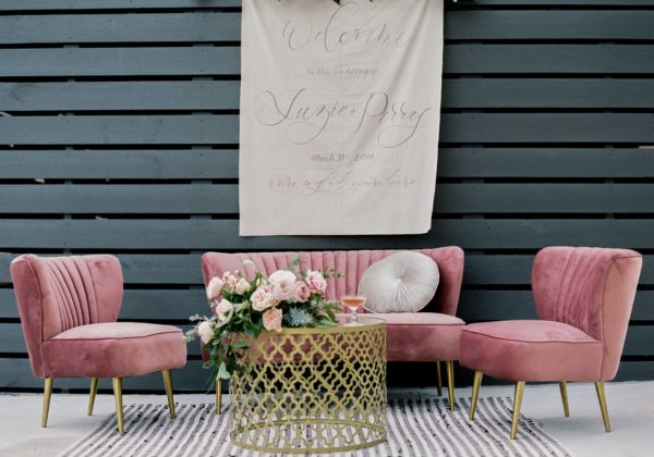 modern lounge, luxe, event hire, prop hire, wedding, birthday, bridal shower, melbourne