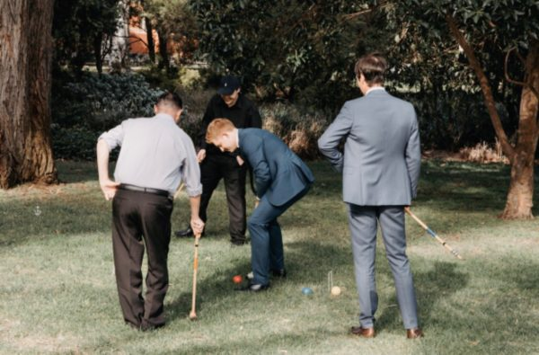 lawn games, vintage, rustic, boho, melbourne, ceremony, wedding hire,event, prop, croquet