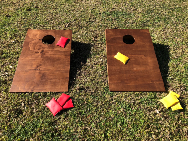 vintage, rustic, boho, lawn games, corn hole toss, ceremony, wedding hire, melbourne, prop hire