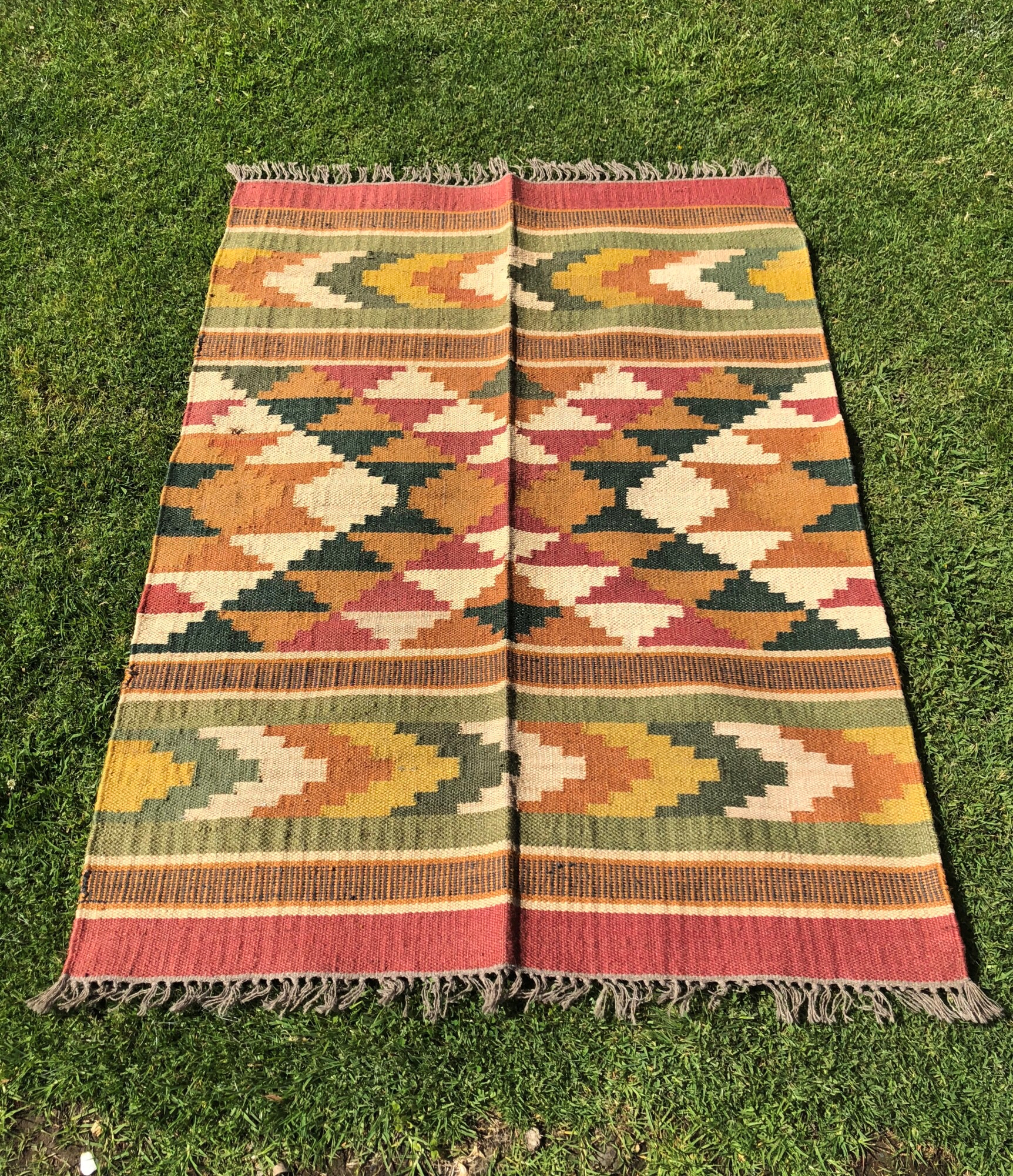 Aztec Rug - A Day To Remember Event Hire