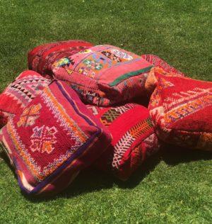 boho, ottoman, picnic, ceremony, wedding hire, melbourne, prop,moroccan, floor cushion