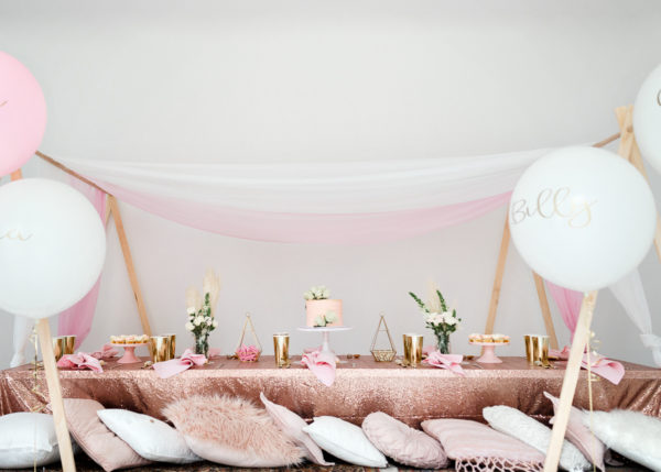 kids party, picnic, birthday, luxe, princess, event hire, prop hire, melbourne, children, glamping